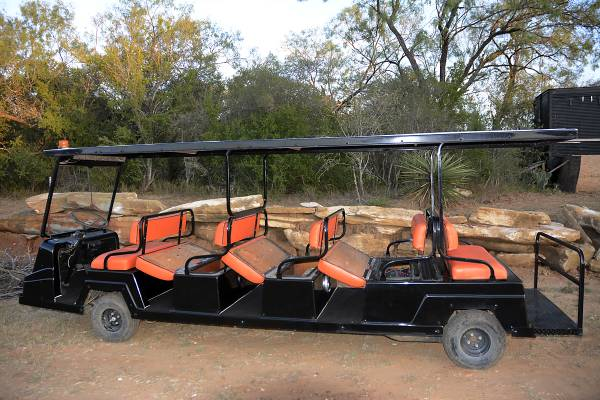 Cushman 10 Seater Limo Golf Cart Used Cushman Call 855